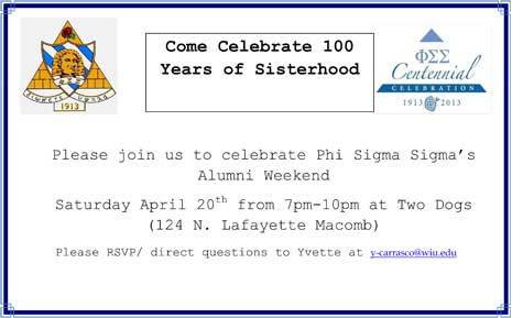 Phi Sigma Sigma Celebrates 100 Years