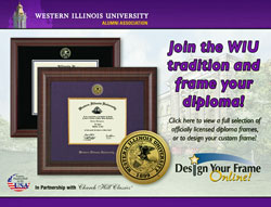 Diploma frame