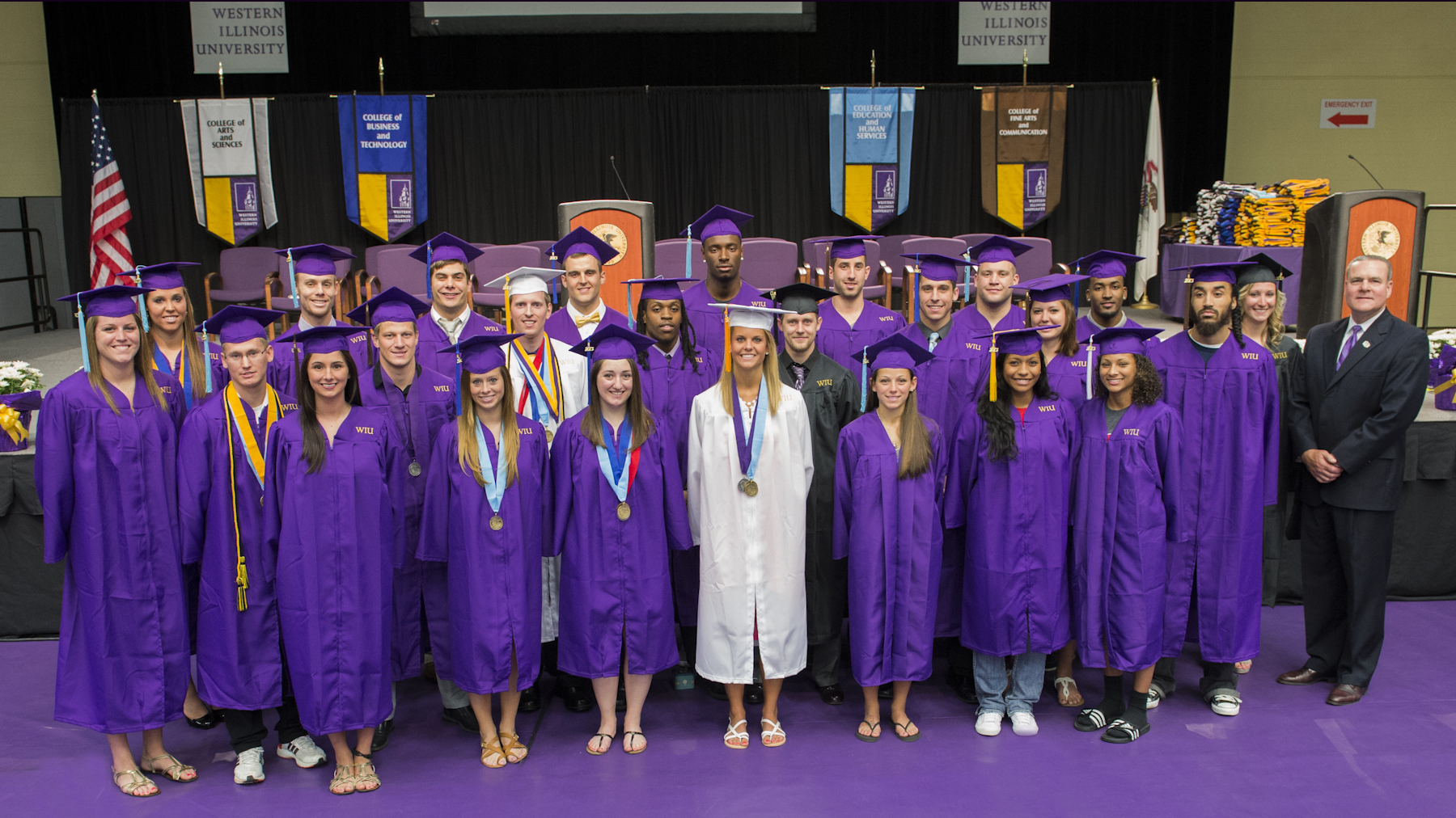 Athletics' Graduates