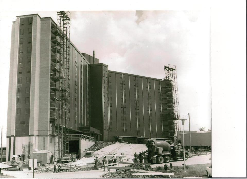 Wetzel Hall Construction