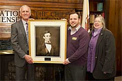 Lincoln Portrait Donated