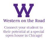 Western on the Road Connect your student to their potential at a special open house in Chicago!