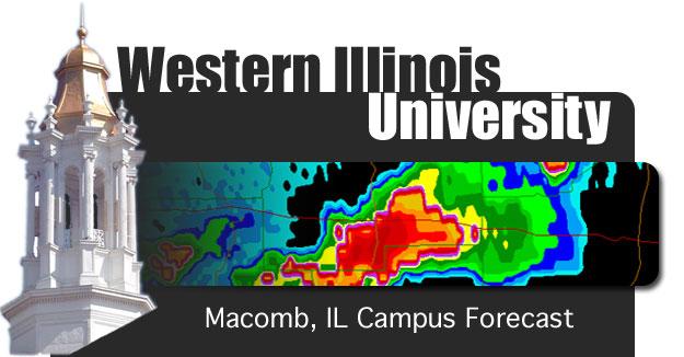 Western illinois university forecast
