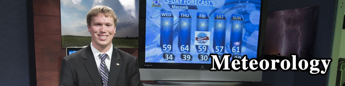 student weather anchor on tv news.