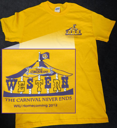 2012 Homecoming T-shirt