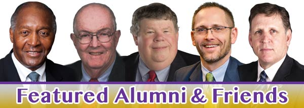 Featured Alumni & Friends.