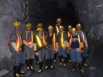 Tour of Stillwater Mine