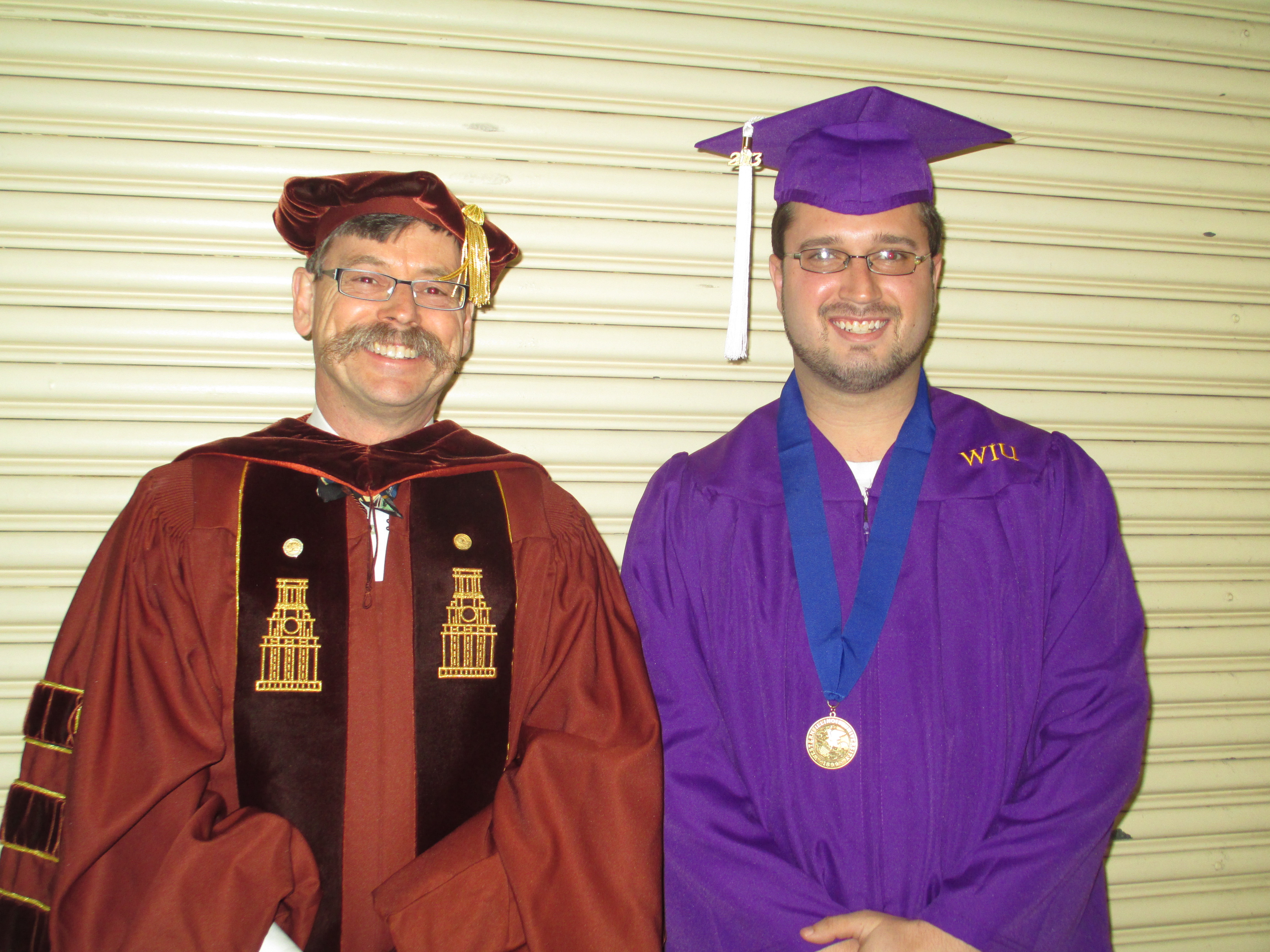 Dr Cordery and Honors Graduates