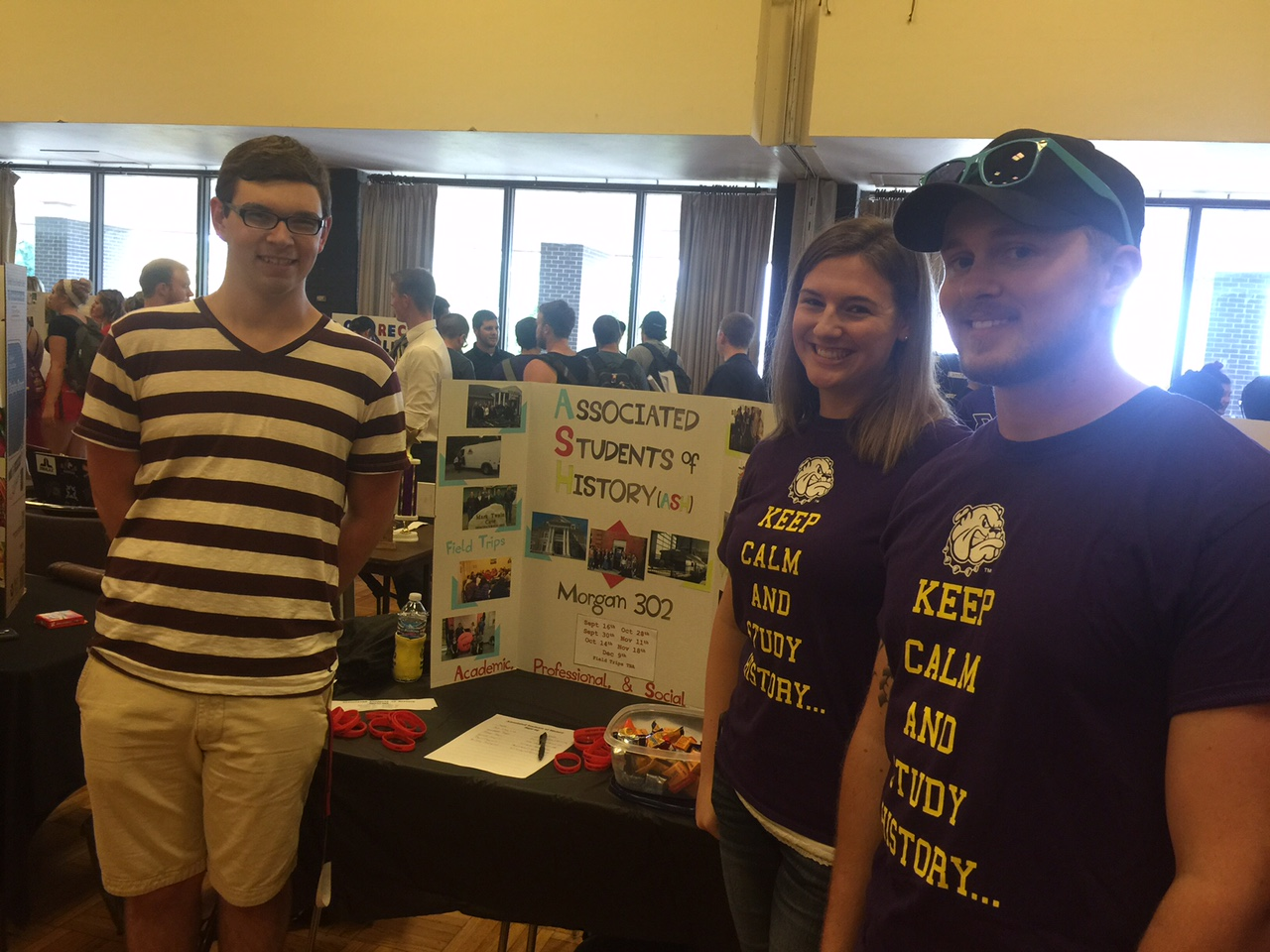 AHS table at the WIU Majors' Fair