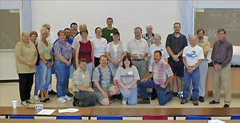 Physics department faculty and staff