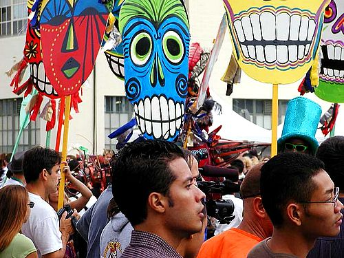 International Festival Masks.