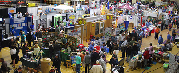 Vendors on main floor