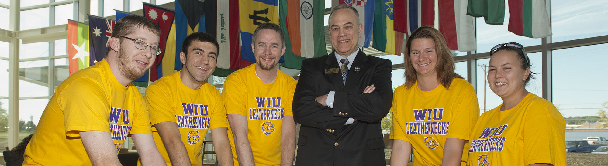 student with Engineering Director Bill Pratt