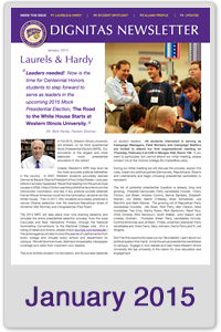 January 2015 Honors Newsletter