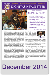 December 2014 Honors Newsletter