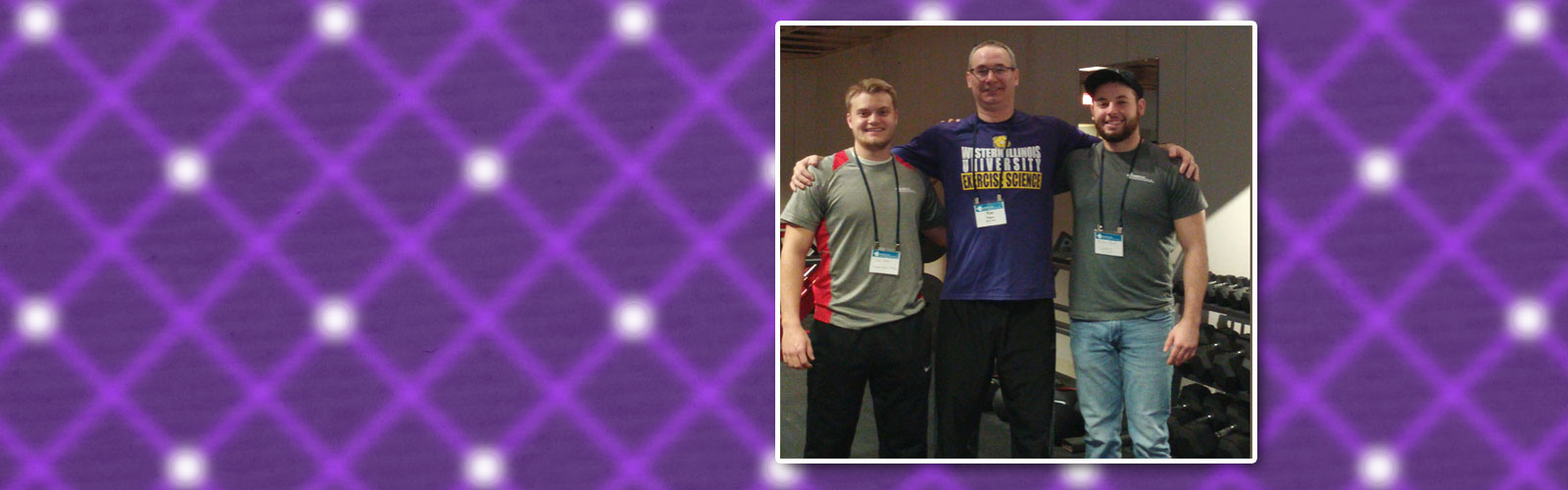 Picture of Dr. Tim Piper, Nolan Banks & Mason Read at IL NSCA State Conference