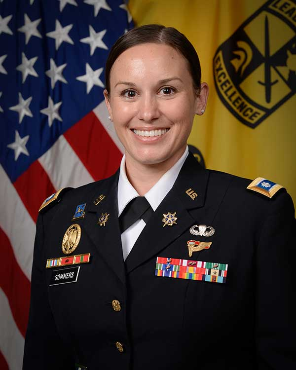 Photo of LTC Joan Sommers