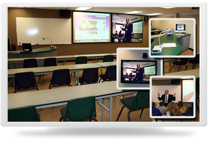 Image of Electronic  Classroom in Horrabin Hall room 82