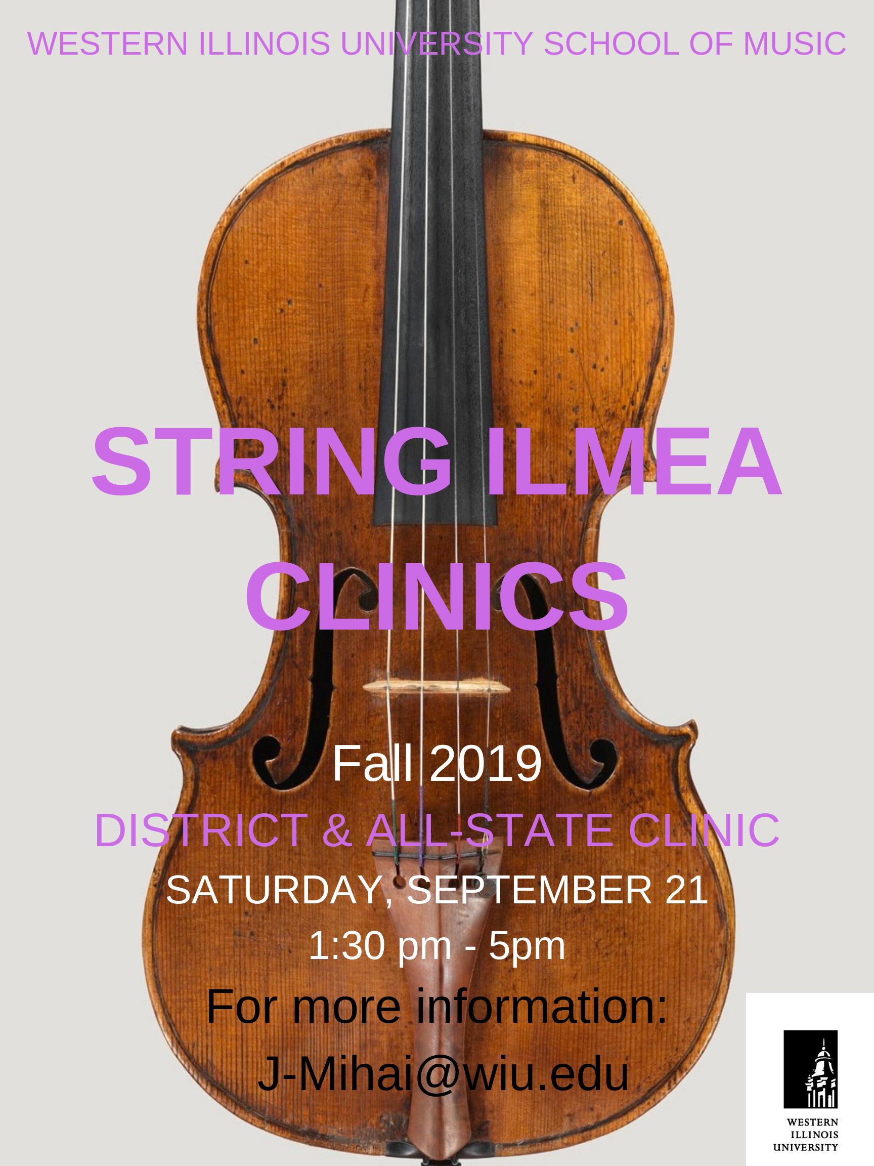 violin clinic