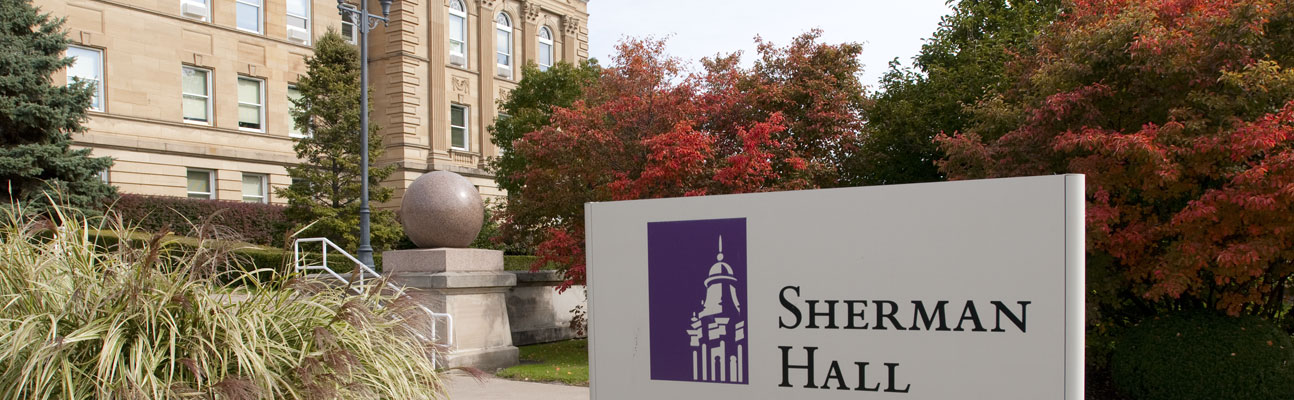 Sherman Hall, home of WIU's HR Department