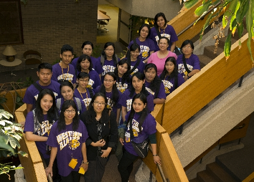 The third cohort of teachers and administrators from Myanmar attended the Western Illinois University Educational Leadership Institute from mid-April through early May this year. They were at Western as part of a 2014 Memorandum of Understanding (MOU) aimed at expanding educational opportunities between WIU and the International Language and Business Center (ILBC) of Yangon (Myanmar).