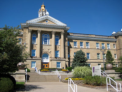 Image of Sherman Hall.