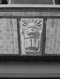 Image of the architectural decoration.