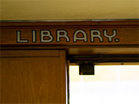 Image of sign in Simpkins Hall.