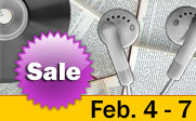 Book and media sale February 4th till the 11th..