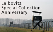Image of a prison with the text Leibovitz Special Collection Anniversary