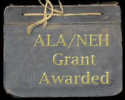 ALA/NEH Grant Awarded