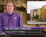Screenshot from new video showing Dr. Michael Lorenzen.