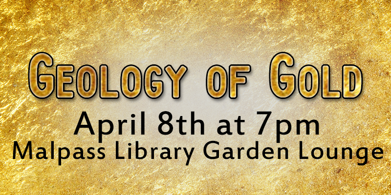 Banner image gold color with text about the event