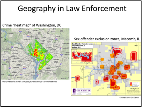 Geography in Law Enforcement