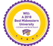 U.S. News and World Report: Named 2017 Best College in the Midwest