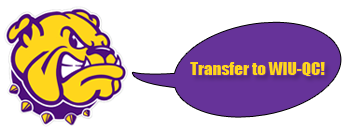Transfer to WIU-Quad Cities