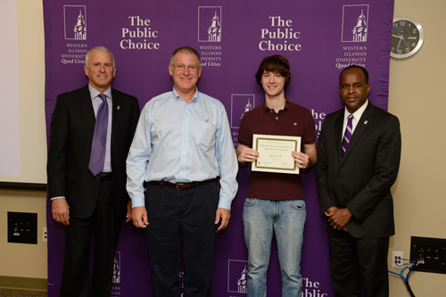 Steven Case, Andy Zinn-Genesis Systems Group Engineering Scholarship - October 4, 2012