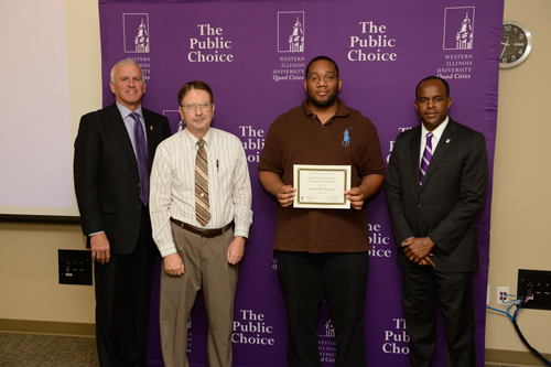 Jacques Washington, John Deere Tech Center Alumni Scholarship - October 4, 2012
