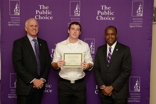 Ethan Walter, Lavern and Nola McEntire Engineering Scholarship - October 4, 2012