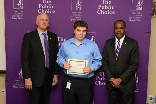 Alex Legatzke, Mid-American Energy Foundation Engineering Scholarship - October 4, 2012