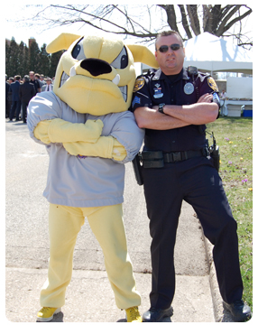 Rocky and Moline Police Officer