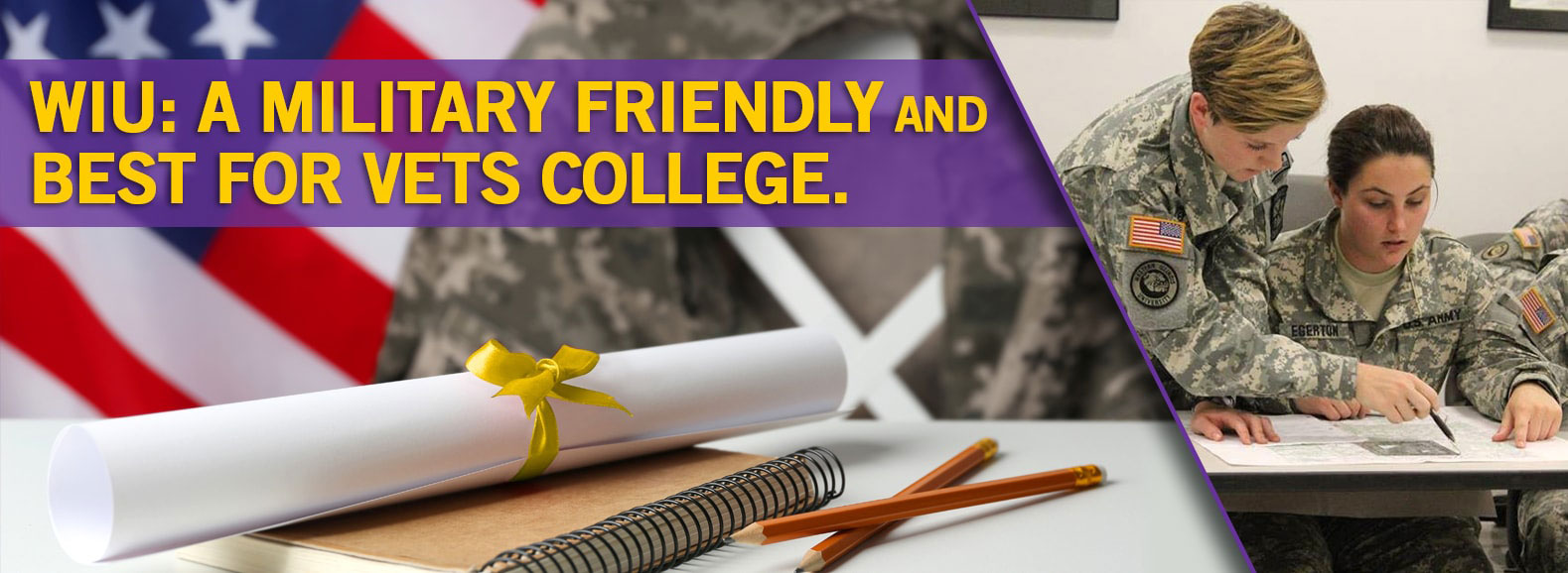 WIU: A Military Friendly and Best for Vets College.