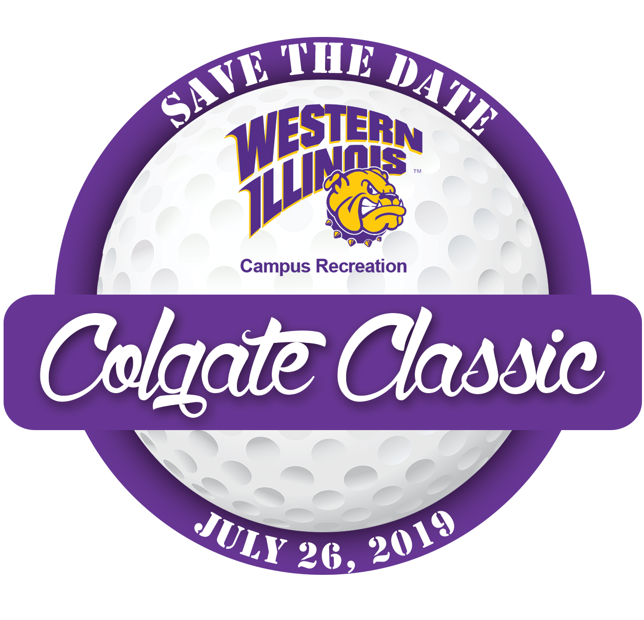 Colgate Classic Save the Date logo