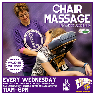 Chair Massage by Tammy Miller