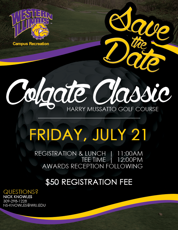 Colgate Classic Save the Date - July 21