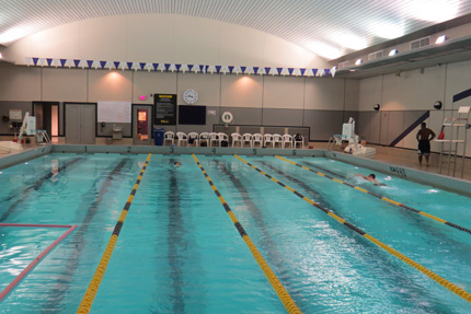 Spencer Student Recreation Center Aquatics Center Pool
