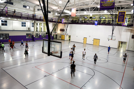 Spencer Student Recreation Center Basketball Courts
