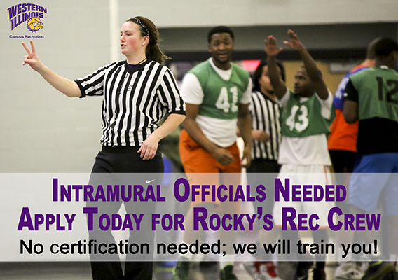 Intramural Basketball Official