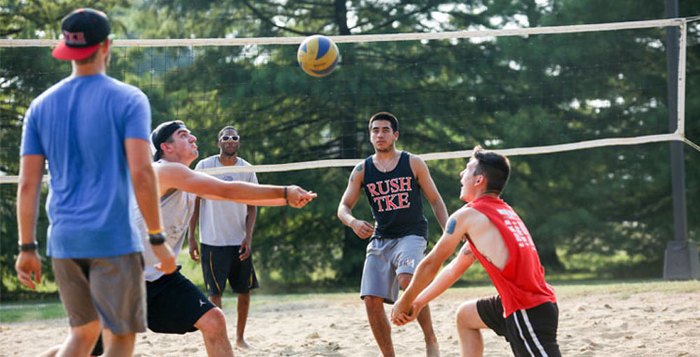 4v4 Sand Volleyball