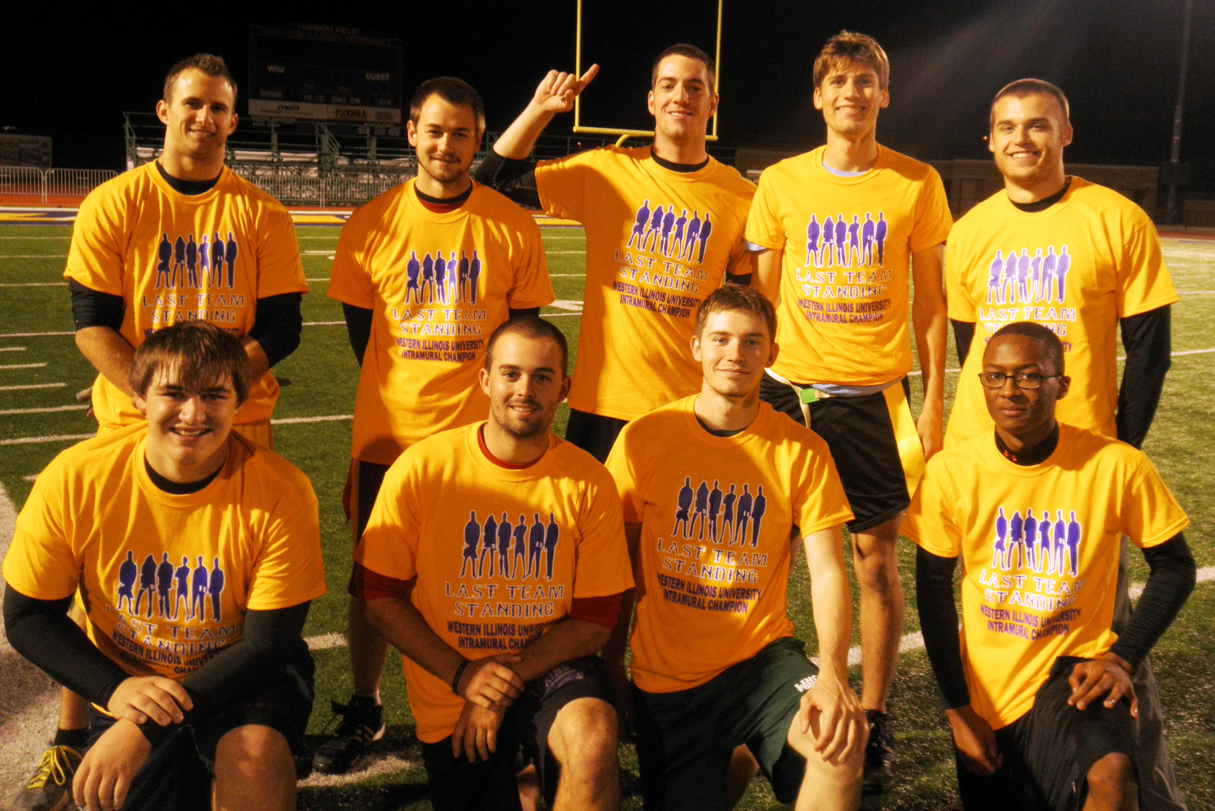 IM Flag Football Champions Fall 2013